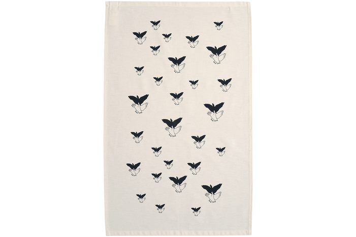 Shadow Hands  - Tea Towel