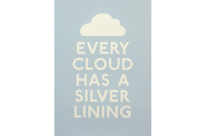 Every Cloud - Blue