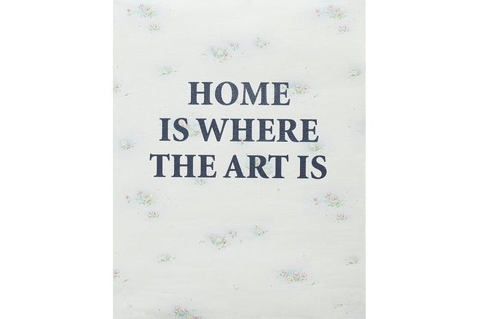 Home is Where - Floral