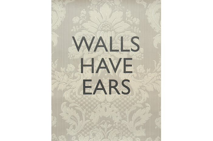Walls Have Ears - Damask