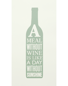 Meal Without Wine - Green