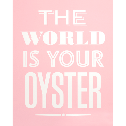 Photo of Your Oyster - Pink