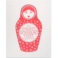 Russian Doll - Red