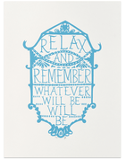 Relax and Remember