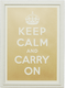 Photo of Keep Calm - Gold
