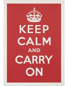 Keep Calm - Red