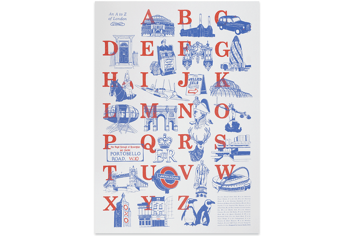 An A to Z of London