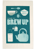 Brew Up - Tea Towel