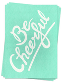 Be Cheerful - Postcards