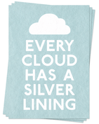 Every Cloud - Postcards