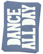 Dance All Day - Postcards