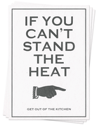 Stand the Heat - Postcards
