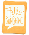 Hello Sunshine - Postcards