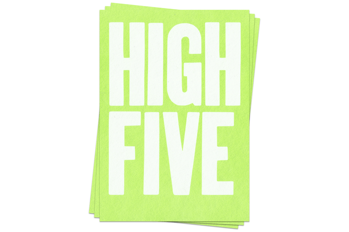 High Five - Postcards