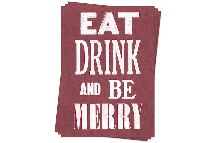 Be Merry - Postcards