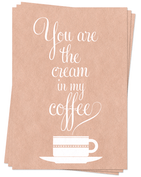 My Coffee - Postcards