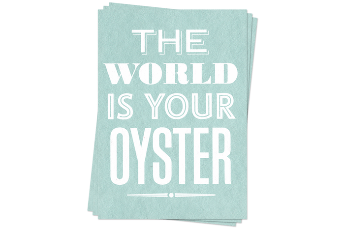 Your Oyster - Postcards