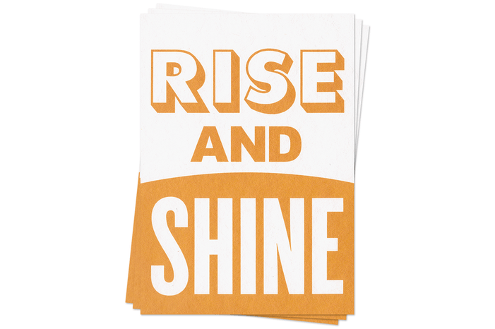 Rise and Shine - Postcards