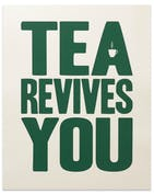Tea Revives You - Forest Green