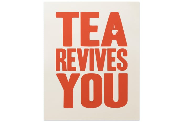 Tea Revives You - Red
