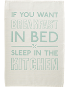 Breakfast in Bed - Tea Towel
