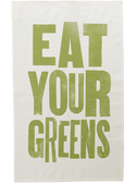 Eat Your Greens - Tea Towel