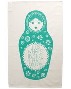 What's Inside - Tea Towel