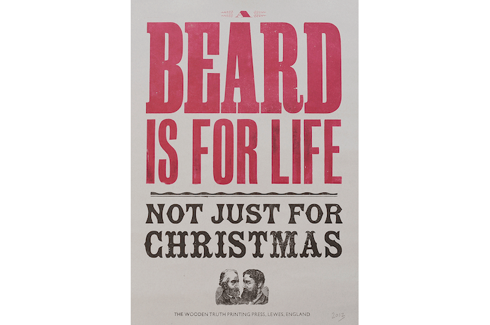 A Beard Is For Life